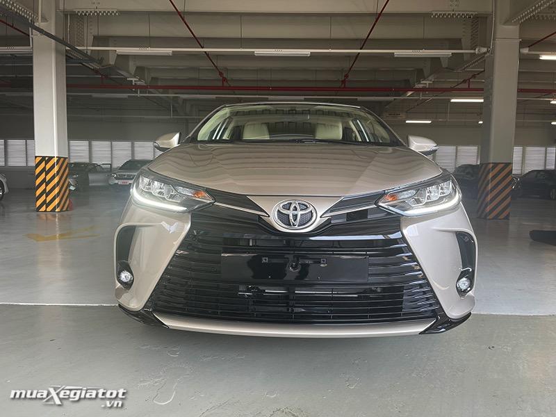 đầu xe bản 1.5G - toyota vios 2021 bản 1.5G-toyota-tan-cang-muaxegiatot.vn