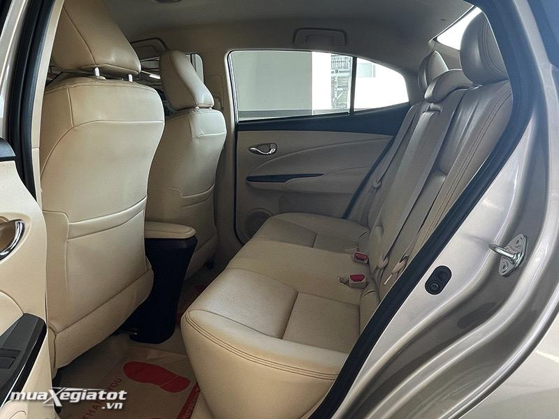 hàng ghế sau xe toyota vios 2021 bản 1.5G - muaXegiatot.vn